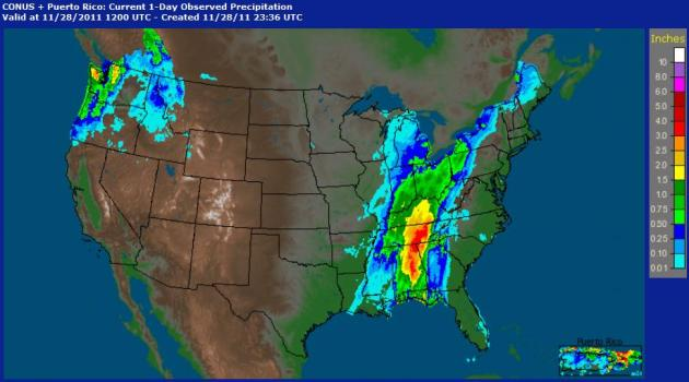 Snow Drought Light Mix Saturday No Significant Snow In Sight - Doppler radar in the united states