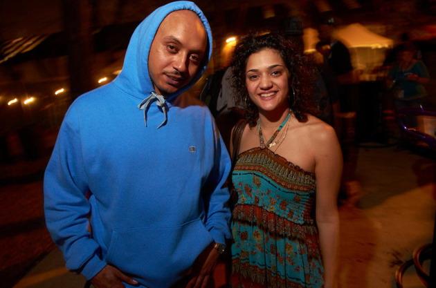 Muja Messiah and Maria Isa, aka Villa Rosa. / Photo by Tony Nelson