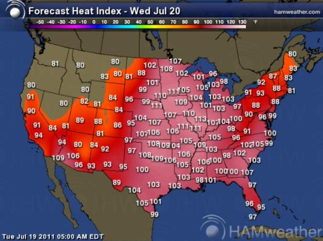 Heat Storm Recordsetting Dew Point Of At MSP Heat Index - Us dewpoint map