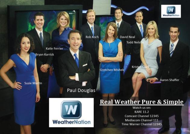 Weather Channel Cast : Paul douglas weather column denver blizzard remarkably