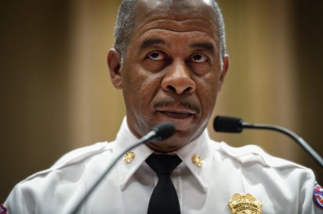 Outgoing Fire Chief Alex Jackson