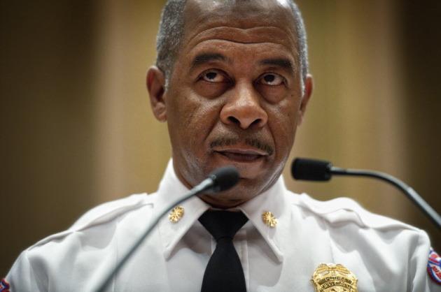 Outgoing Fire Chief Alex Jackson