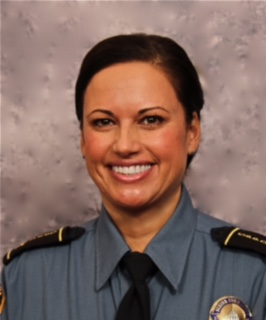 Senior Commander Tina McNamara