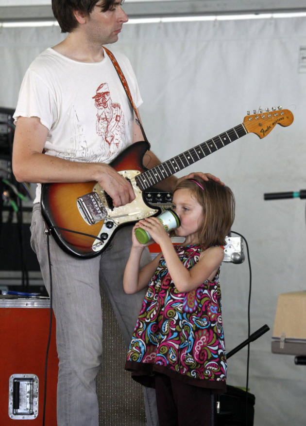 Jeremy and Mijah Ylvisaker at Taste of Minnesota in 2010. / Star Tribune file