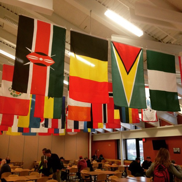 Hibbing Community College World Flags Project