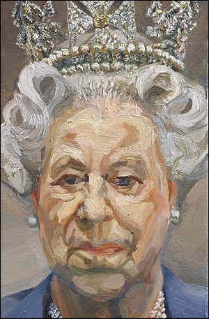 queen elizabeth i portrait. Queen Elizabeth II