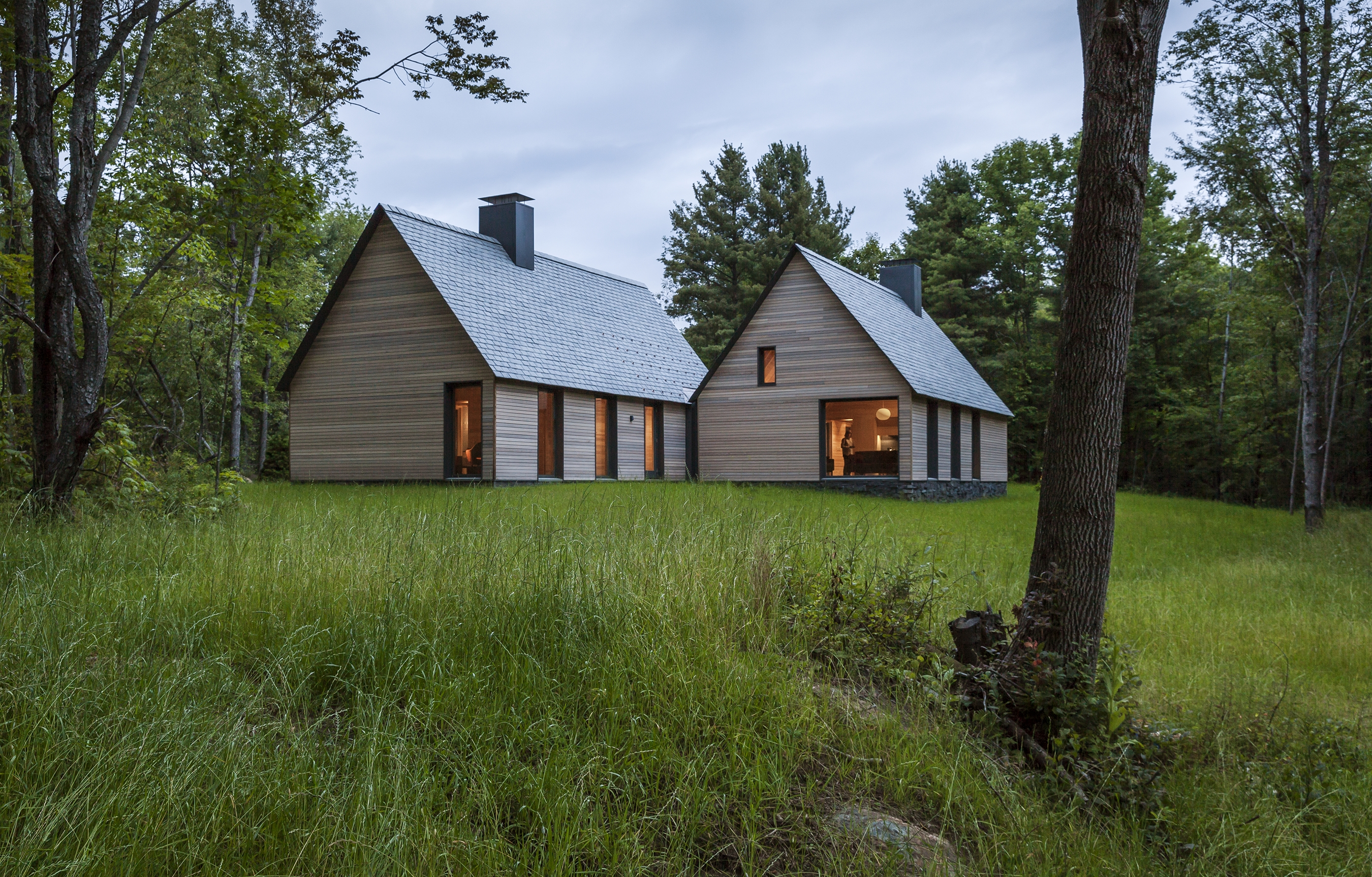 Beau HGA Architects And Engineers (HGA) For The Marlboro Music Cottages At The  Marlboro Music School And Festival In Marlboro, Vermont. The Project Team  Included ...