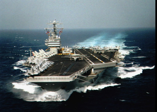 (Theodore Roosevelt, U.S. Navy, 1995)