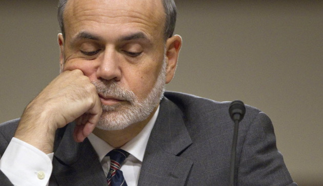 Bernanke has plenty to contemplate. Seen here in 2011 on Capitol Hill. (Evan Vucci/AP)