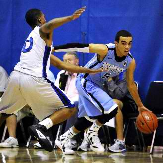 Tyus Jones at the Peach Jam AAU tournament