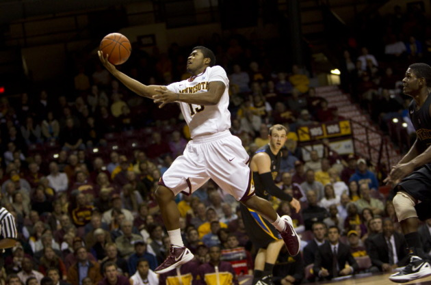 Maverick Ahanmisi was a big part of the Gophers' success in the second half