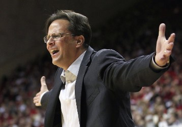 Tom Crean's Indiana squad has lost three consecutive games.
