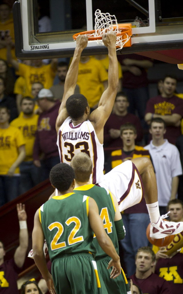 Williams will be a big key in the Gophers' success next year