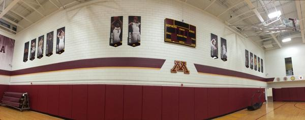 Bierman field athletic building gets basketball upgrades for How much to build a basketball gym