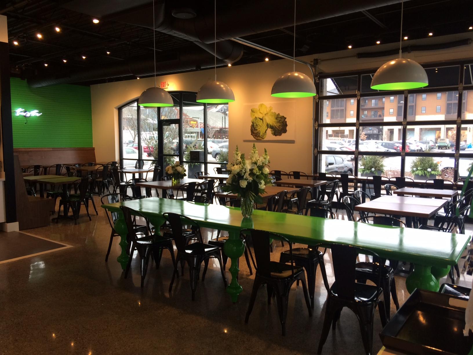 Ryan Burnet's latest venture: Crisp & Green