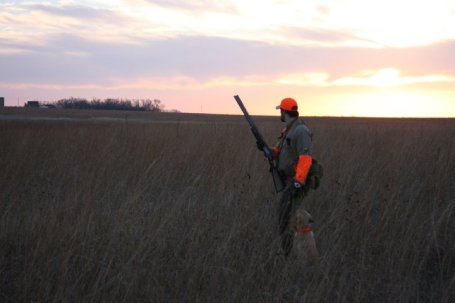 """Remember that feeling because one day you might have to answer the question of why you hunt, or better yet, you might have to teach a young child why WE hunt."
