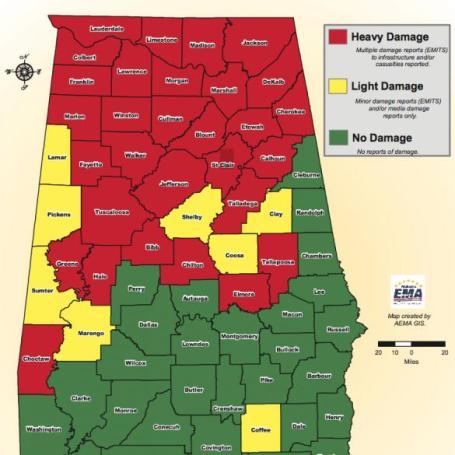 Ration Of Sunlight (history-making tornado outbreak last