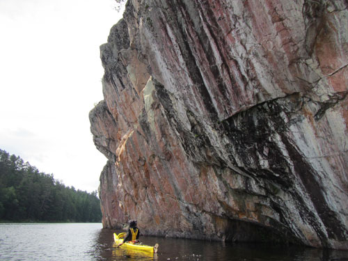 Kayaking in the BWCAW