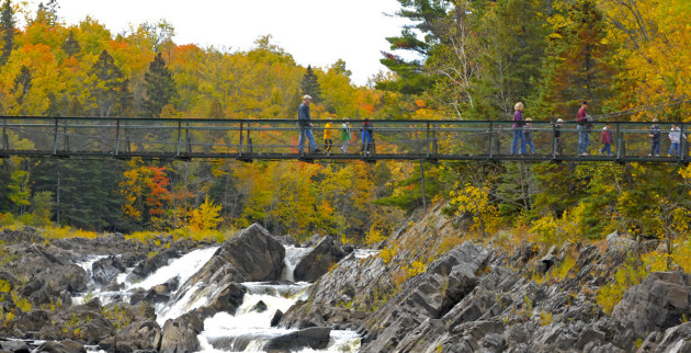 Jay Cooke State Park in October. Photo: Dennis Anderson