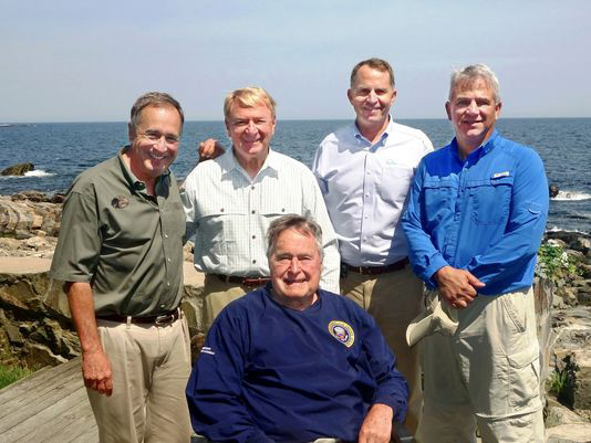 President George H.W. Bush honored for fisheries conservation ...