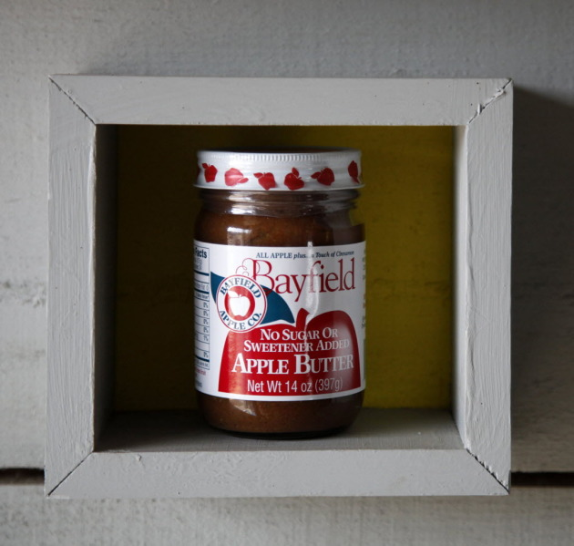 Bayfield apple butter. Staff photo by Tom Wallace.