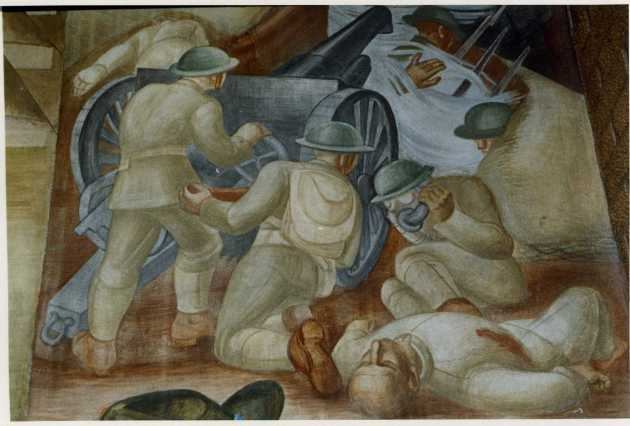 Detail of the mural above
