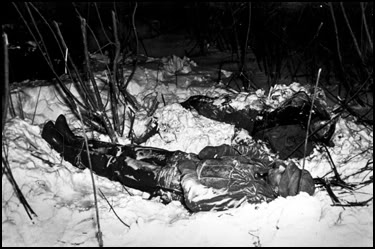 Forty-nine people died in Minnesota in the 1940 Armistice Day storm, including these lightly dressed duck hunters.