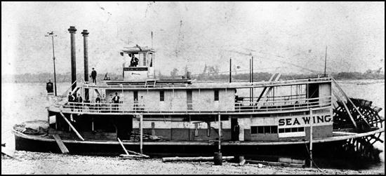 The steamer Sea Wing about a year before the tragedy. (MNHS.org photo)