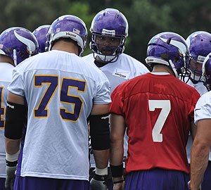 Are the Vikings better off with Ponder and Kalil in their huddle?