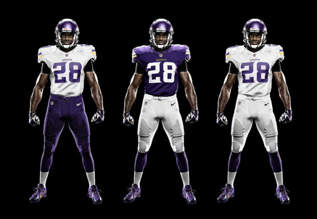 New Vikings uniforms a hit with players, fans