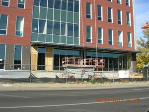 New schoolheadquarters under construction