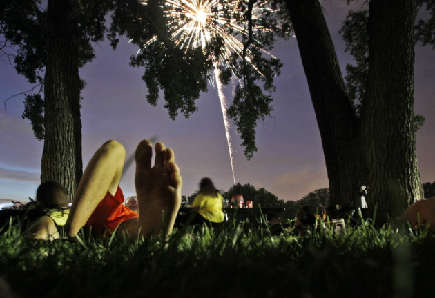 This photo by David Joles captures the ambience at Powderhorn Park