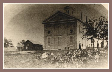 Union School in the 1850s