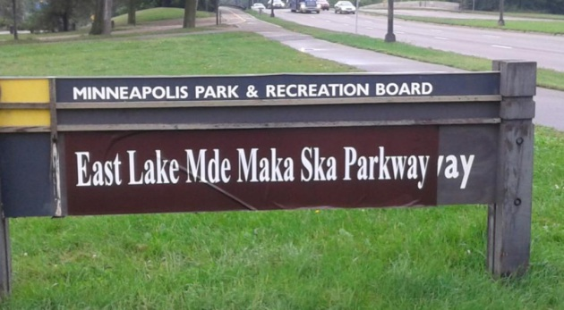 http://www.startribune.com/signs-rename-lake-calhoun-with-dakota-historical-name/323926451/