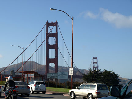 The beautiful Golden Gate Bridge has supposedly around 41 million average crossings a year