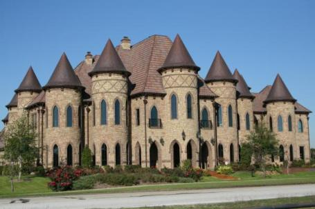 "This Southlake ""castle"" has 16,000 square feet, 8 bedrooms, 10 bathrooms and 11 turrets. Cost: $10,000 w/ a three-day minimum."