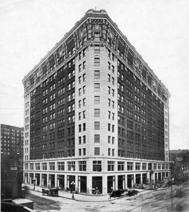 An undated photo of the Plymouth Building in its early days from the Star Tribune archives