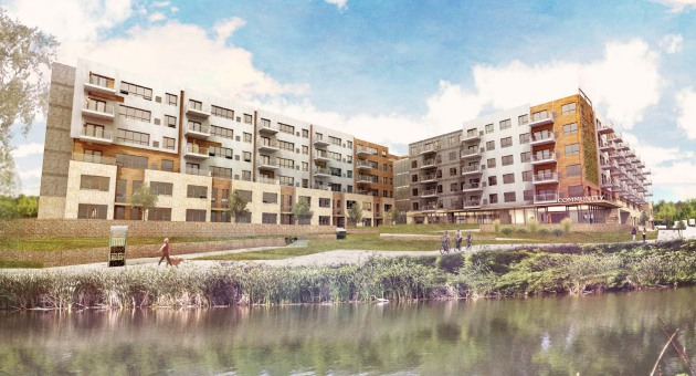 The Cornerstone Group is building 151 apartments in the Lyndale Gardens development in Richfield. The $35 million project will receive $451,000 from Minnesota Housing and $400,000 from the Family Housing Fund and the Metropolitan Council