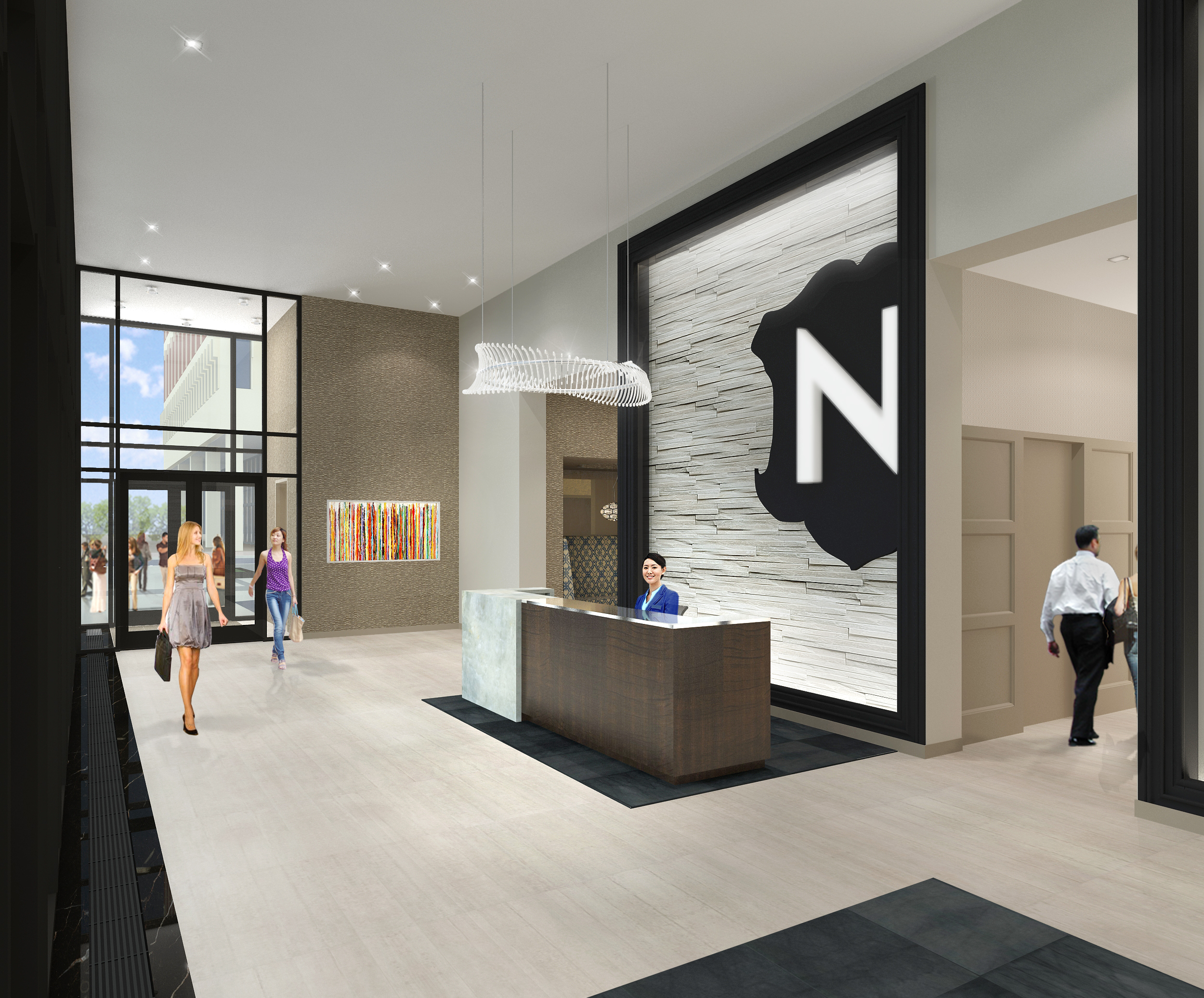 get a first look at the nic on fifth luxury apartments in downtown minneapolis. Black Bedroom Furniture Sets. Home Design Ideas