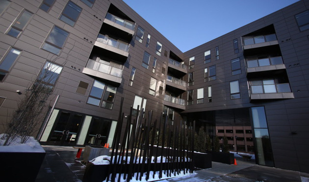 The Brunsfield North Loop apartment building on the edge of downtown Minneapolis was one of several luxury buildings that hit the market during 2013.