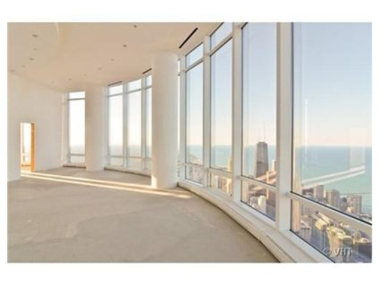 This 14,260 square-foot condo near the top of Trump Tower in Chicago is on the market for $32 million.