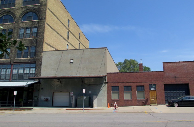 These are the buildings that are slated for demolition.