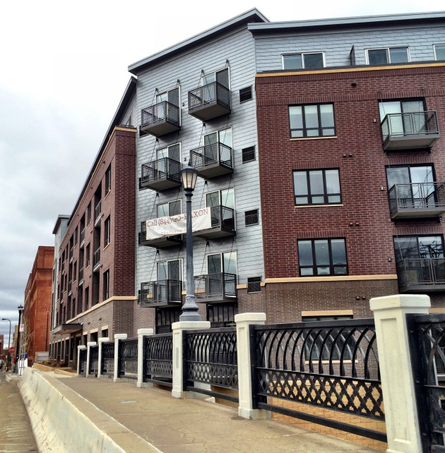 Twin Cities-based Sherman & Associates bought the site and built The Paxon North Loop Apartments..