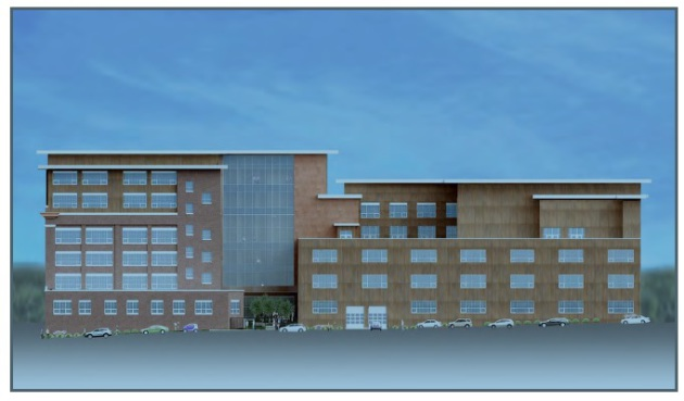 Brickhouse Lofts rendering by David Kelly