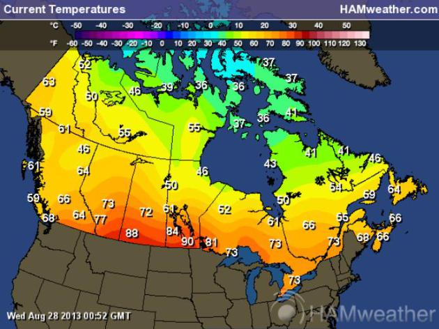 The Wild West Drought Flood Fire And Haboobs Smoke From: Western Canada Weather Map At Infoasik.co