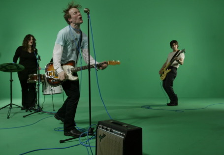 "Low in 2005 filming a video for ""The Great Destroyer."" / Photo by Joel Kyoama, Star Tribune"