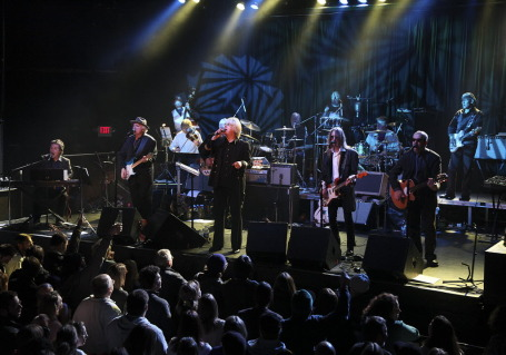 Curtiss A and his large Lennon ensemble last year at First Ave. / Photo by Tom Wallace