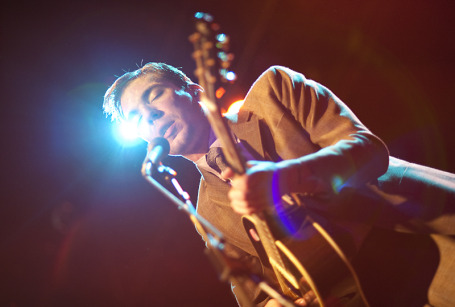Justin Townes Earle made his debut as a First Avenue headliner last night. / Photo by Leslie Plesser