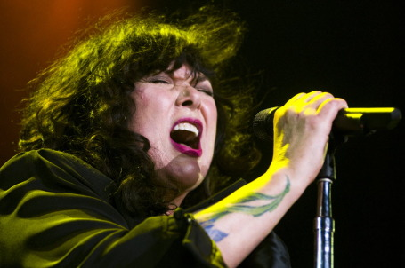 Heart's Ann Wilson proved she still has the pipes at last summer's Lilith Fair concert at Target Center. / Star Tribune photo