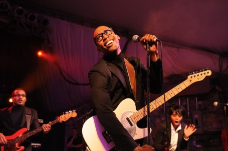 Raphael Saadiq performs outdoors next month, same way he did it at South by Southwest in March. / Phot by Tony Nelson